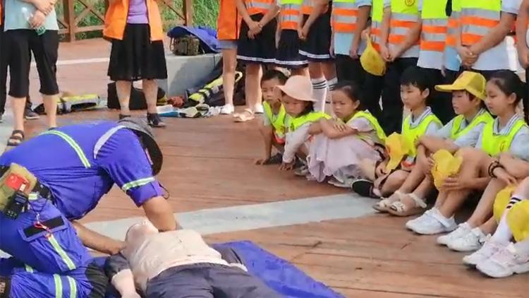 33秒丨暑假防溺水!滨州博兴9958应急救援队教你正确施救方法