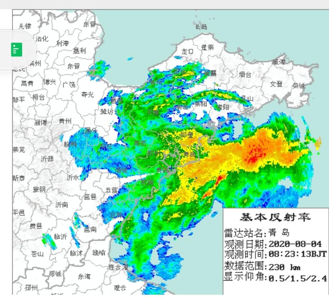 受降雨影响,青岛多条高速公路暂时封闭
