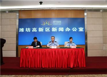 """潍坊高新区以""""打防管控宣""""有力措施  坚决打赢禁毒人民战争"""