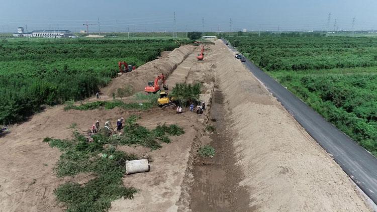 57秒|潍坊滨海强化防汛措施 确保安全度汛