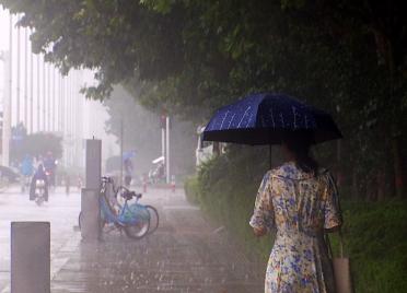 """45秒丨强降雨过后""""副高""""登场 潍坊将迎来雷雨或阵雨天气"""