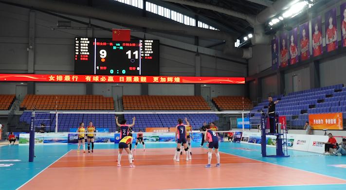 37秒丨山东女排落户日照!香河体育公园体育馆将成为比赛主场馆