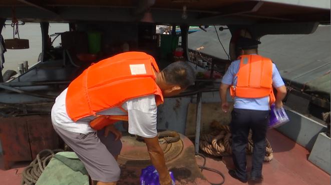 37秒 加大巡航密度 赠送生活物资!枣庄公安全力保障滞留船只水上安全