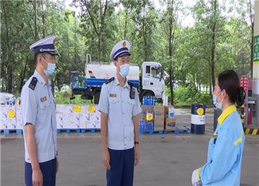 29秒丨潍坊奎文区开展危化品企业消防安全专项检查