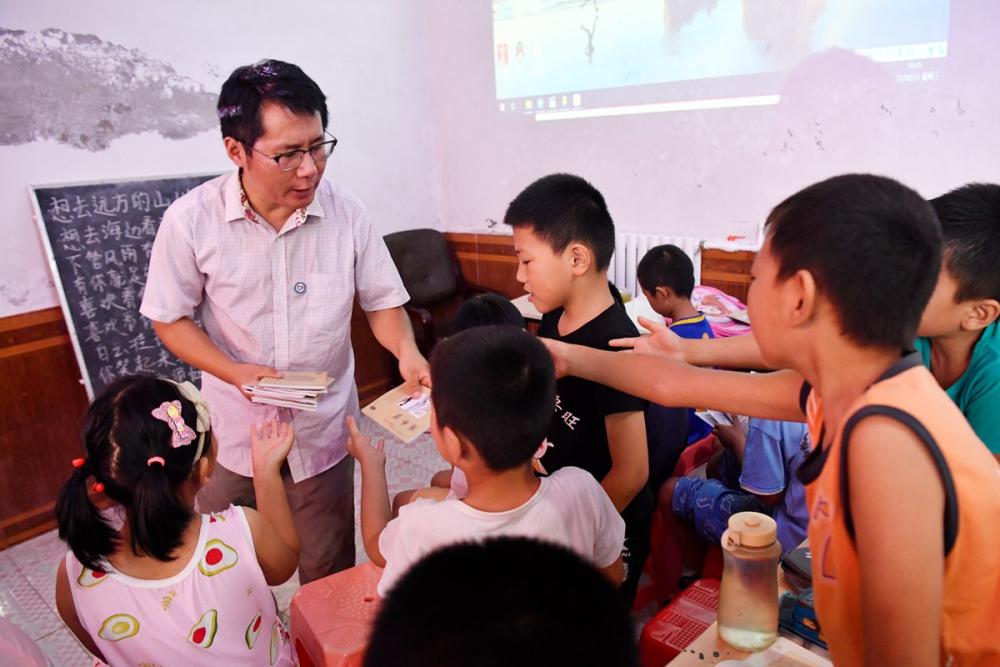 影像力|昔日留守兒童返鄉農村創辦公益學堂 六年教三百多名留守學生