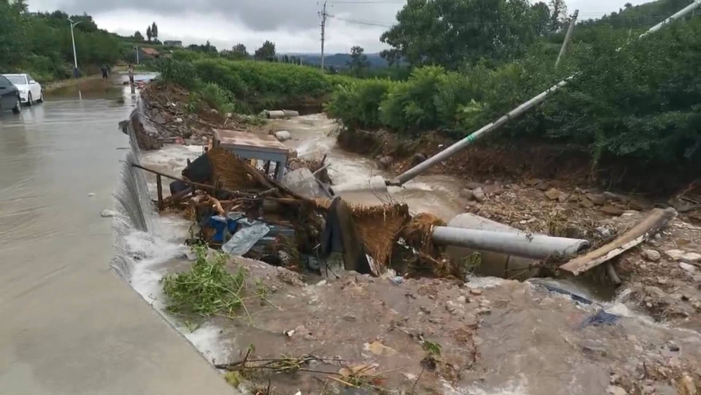 29秒丨积水最深处将近一米!临沂暴雨致部分村庄设施损毁严重