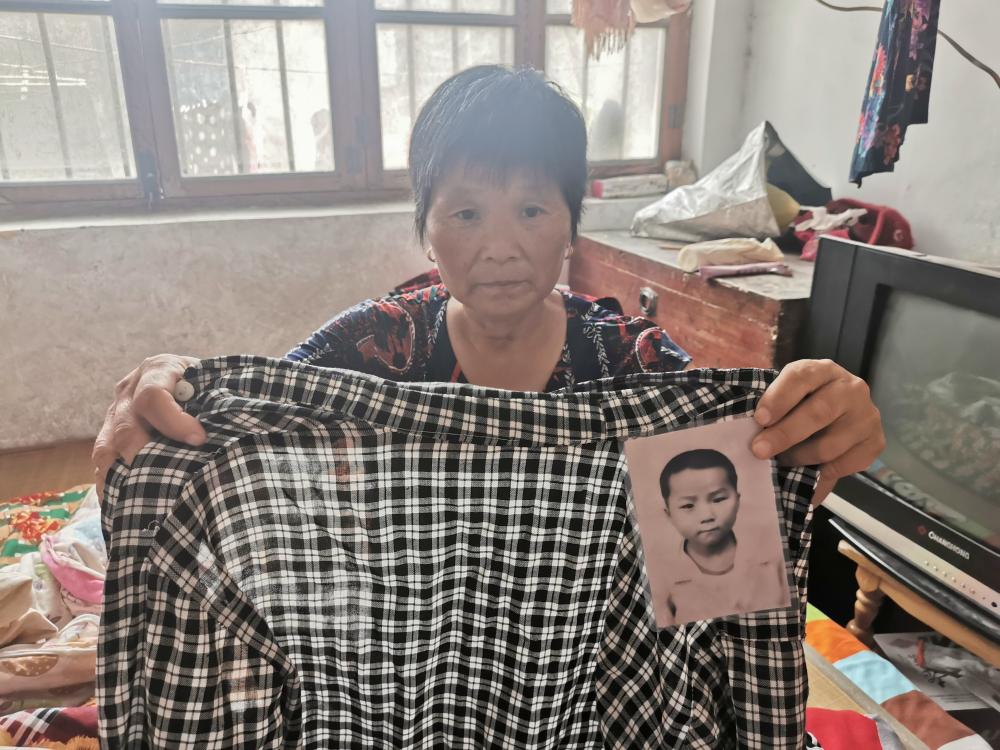 59秒丨儿子失联十五年 家人始终遍寻不到,母亲:只要知道他在哪就好