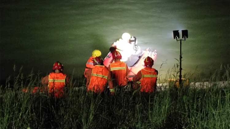 44秒丨滨州邹平一女子深夜水库落水,搜救5小时终于找到了她