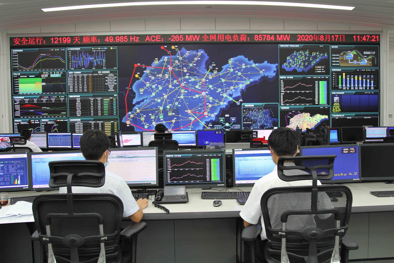 山东电网用电负荷、日用电量双创历史新高