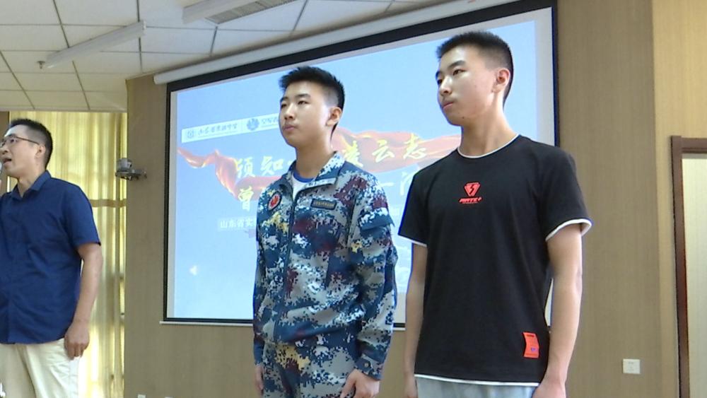 好事成双!山东双胞胎兄弟分别被空军航空和海军航空大学录取