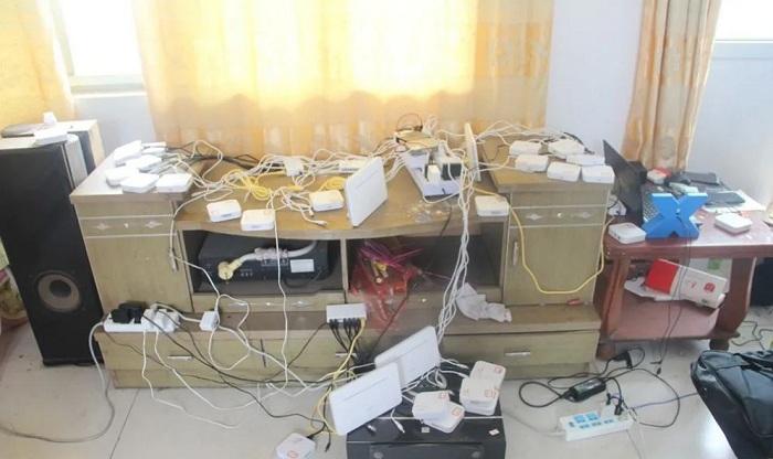 济宁汶上公安捣毁为境外电诈份子提供服务犯罪团伙