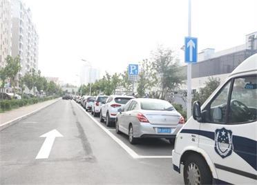 8月23日起,威海鸣鹤街(黄海路至知行巷一段)将实施单向交通管制