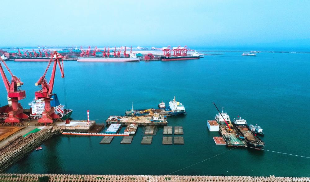 山东港口日照港:大干一百天突破项目攻坚战 确保完成吞吐量4.3亿吨