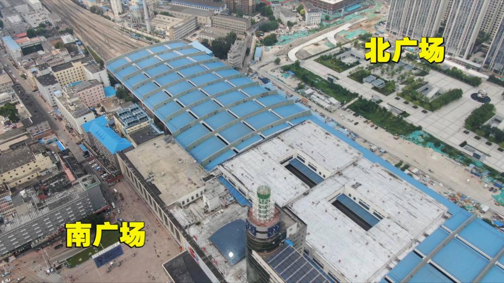 """问政山东丨投资15亿、动工7年的项目却无法启用 济南火车站南北广场呈""""两副面孔"""""""
