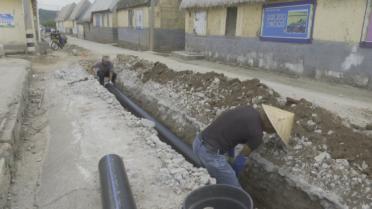 34秒丨荣成各镇街污水管网改造火热进行中 预计今年一半的村可完成治理