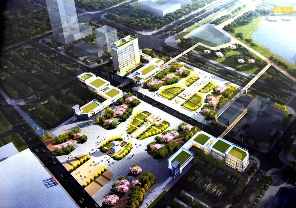 可能长这样!巨野县再次评审高铁新区设计方案