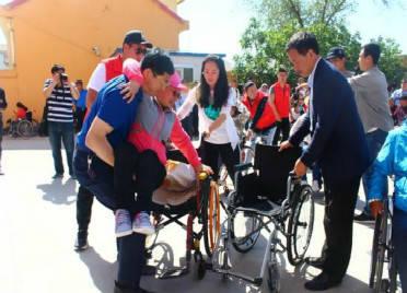 潍坊临朐县2.5万名持证残疾人免费享受意外伤害保险