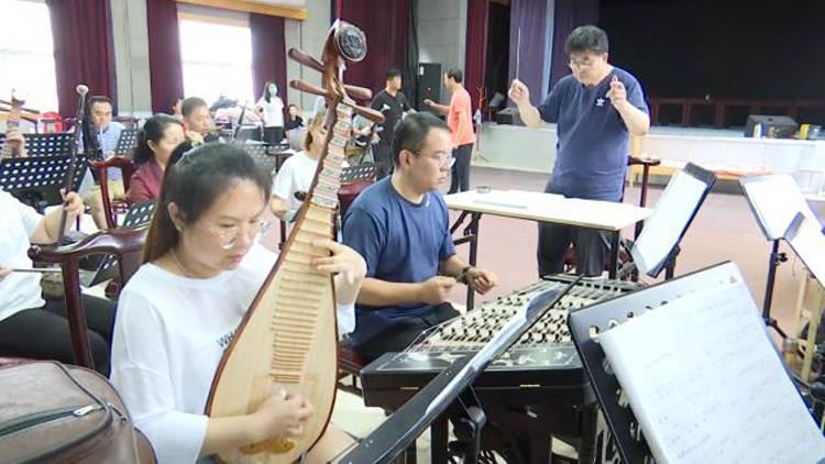 51秒丨滨州市博兴县剧团首部原创吕剧大戏《连心锁》将于9月初搬上舞台