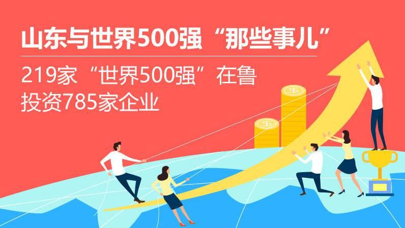 """在鲁投资785家企业!山东与世界500强""""那些事儿"""""""