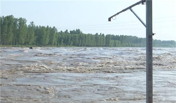 42秒丨黄河2020年第6号洪水由东营入海 流量达4230立方米每秒