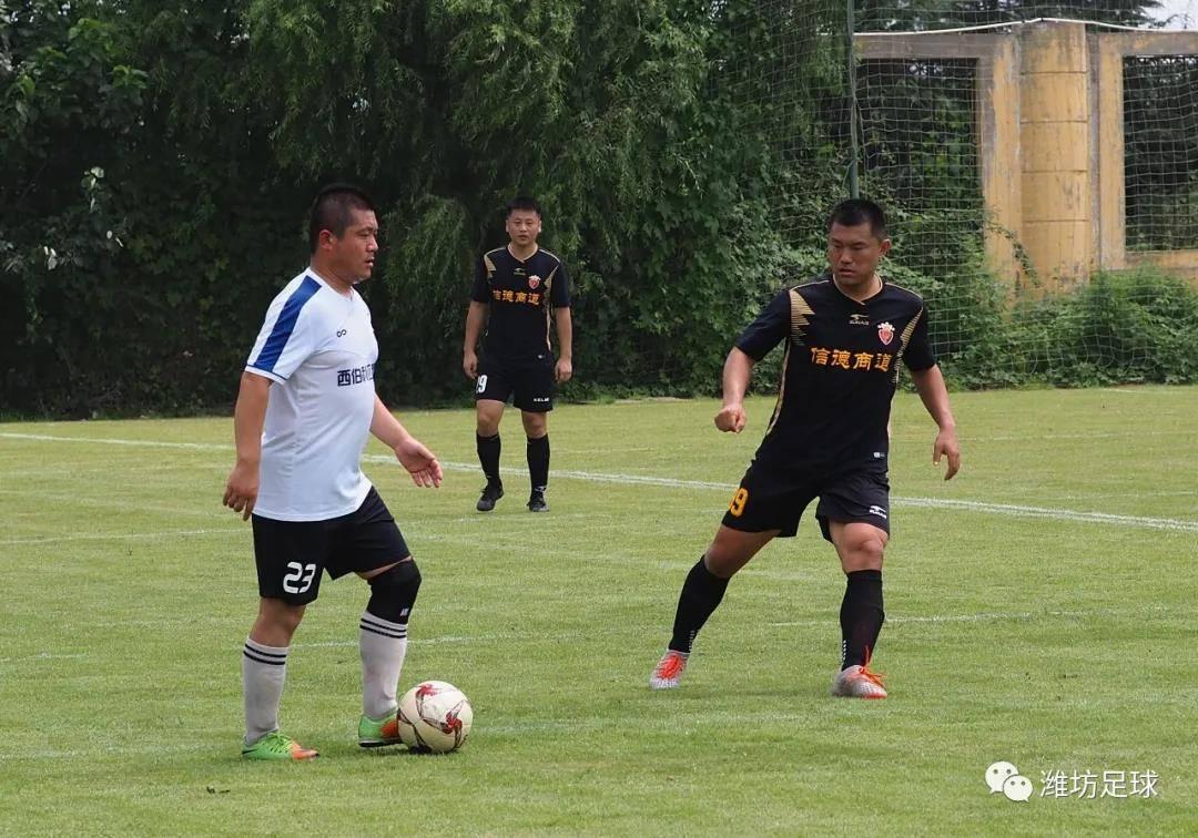 山东省业余足球乙级联赛(奎文高新赛区)第三轮结束争夺