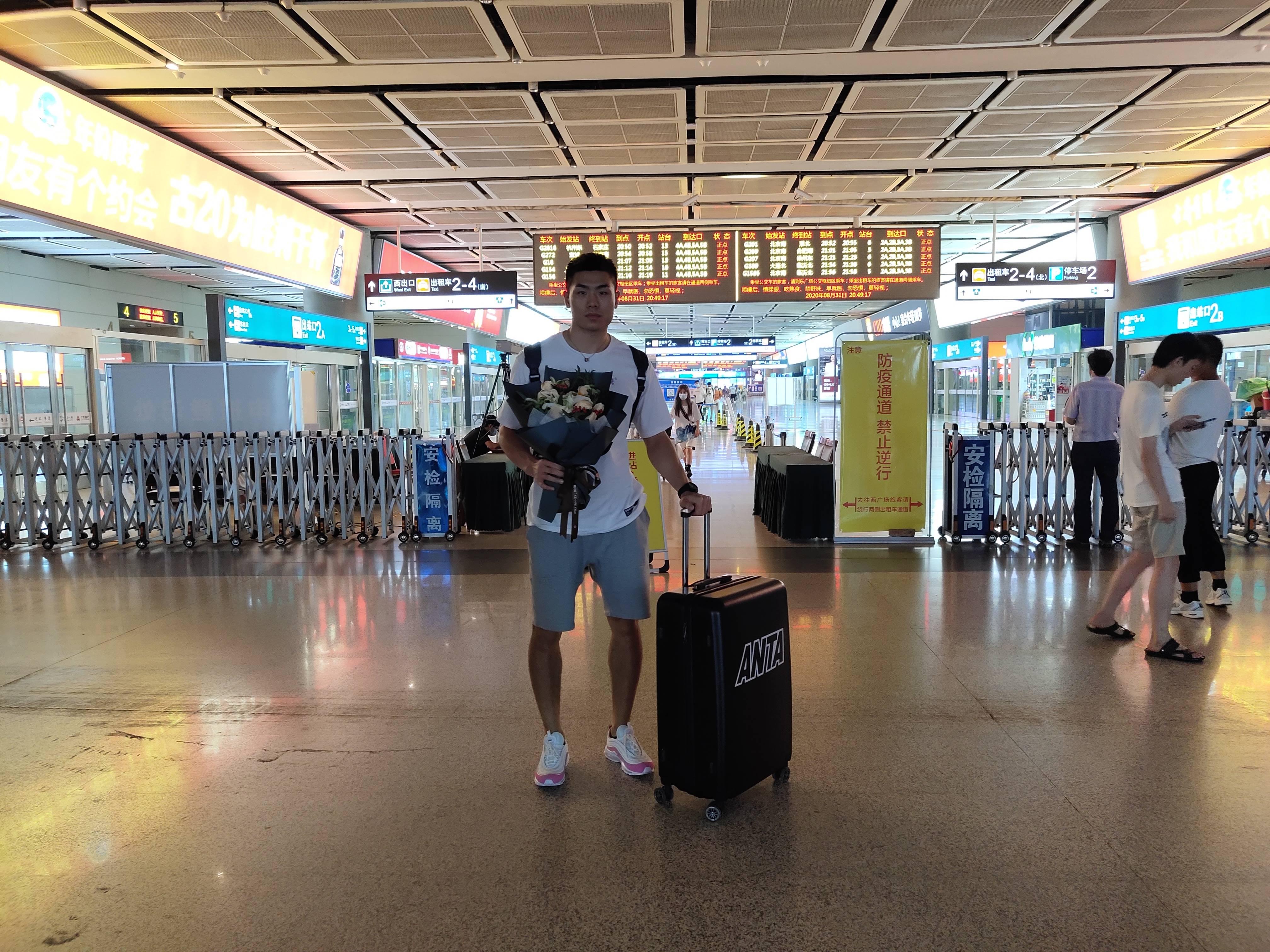 北體大劉毅今日抵濟 明天正式與球隊合練