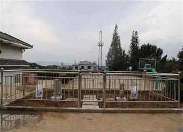 告别无水文监测历史 刘公岛首个自动雨量站建成