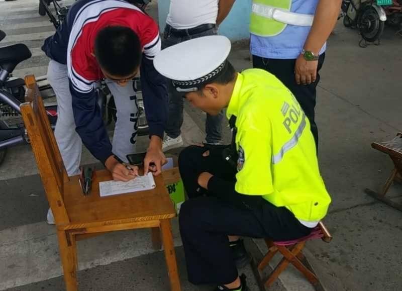 电动自行车未按规定悬挂号牌整治行动已开始 滨州博兴多人被处罚