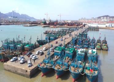 开海倒计时!威海荣成2000多艘渔船整装待发 期待丰收第一网