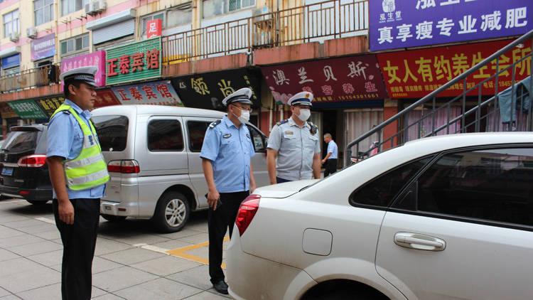 61秒丨滨州消防联合交警部门开展消防车通道集中整治行动