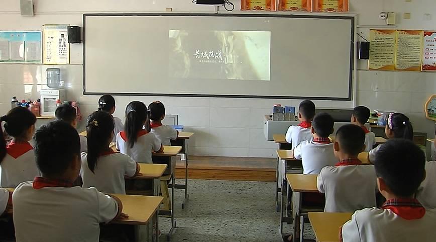 52秒丨勿忘国耻 爱我中华!金乡这所小学开展抗战胜利纪念日主题教育活动