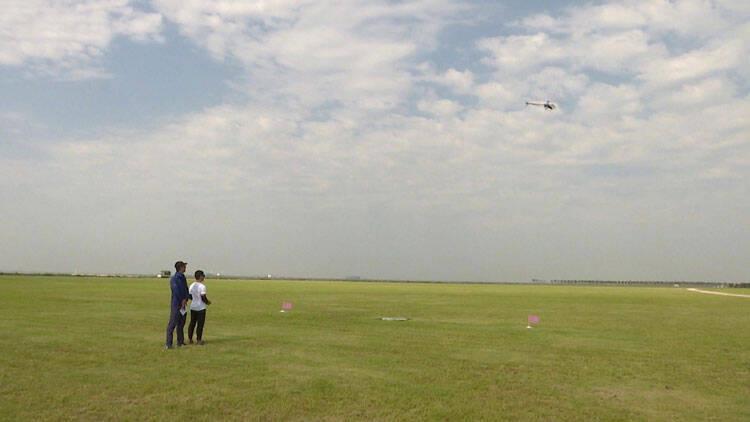 57秒|山东省第十届全民健身运动会航空模型比赛在潍坊滨海开赛