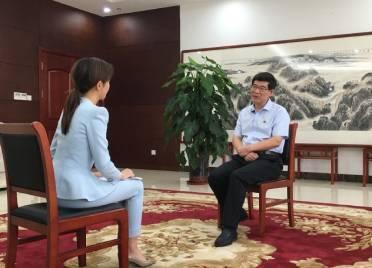 李猛接受山东广播电视台《书记话双拥》电视专访