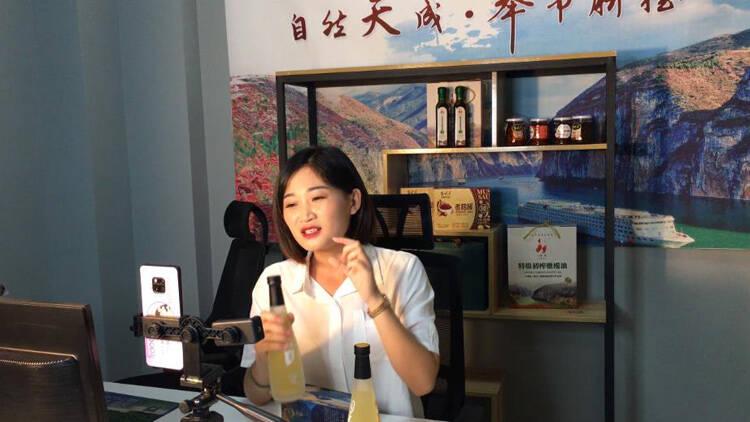 62秒丨滨州援建奉节网络扶贫电商直播项目 成当地网红孵化基地
