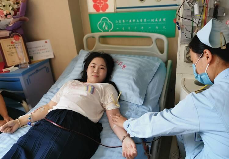 58秒|等待10年的生命之约!济南女子志愿捐献造血干细胞,十年未换手机号