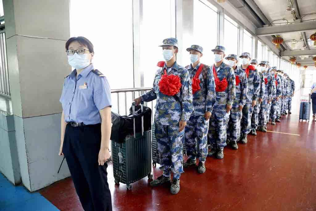 送新兵 踏征程 淄博火车站启动入伍新兵运输工作