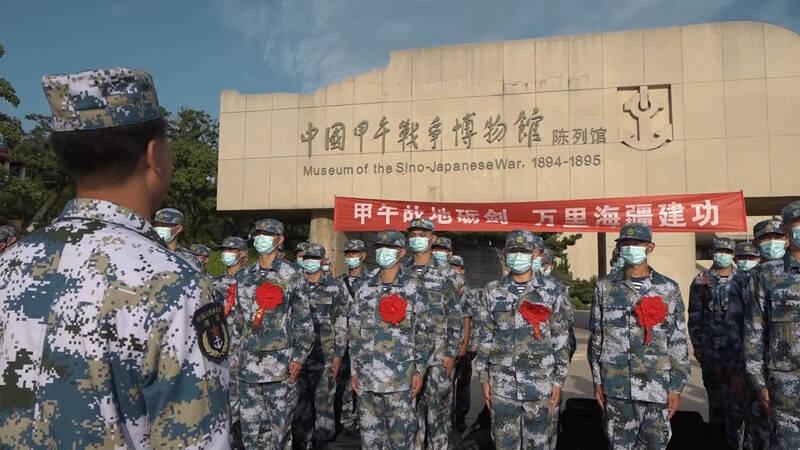 88秒|新兵入营在红色教育基地重温历史 上好军旅生涯第一课