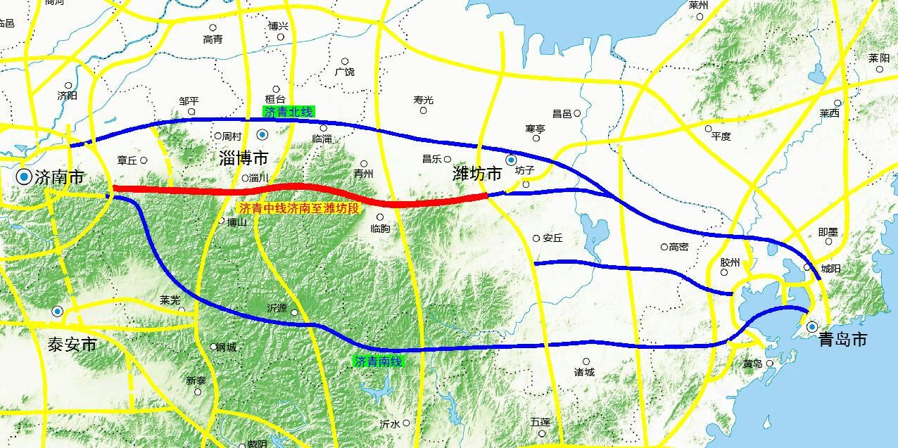 济青中线济南至潍坊段项目获得批复