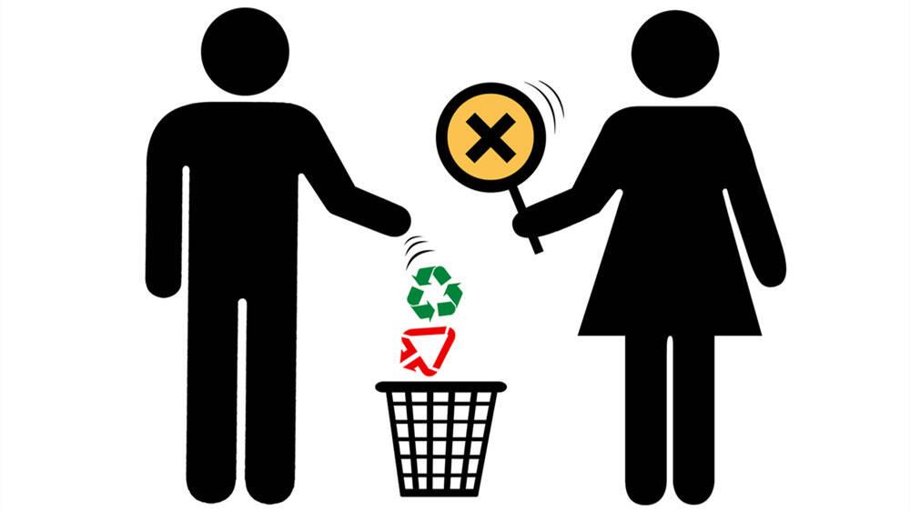 闪电漫评丨生活垃圾分类 改变传统习惯