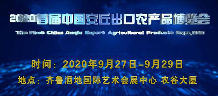 2020首届中国安丘出口农产品博览会加快布展迎宾客
