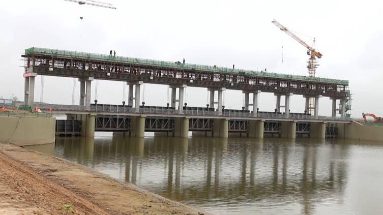 54秒丨东营广饶推进重点水利工程建设 提高小清河流域防洪能力
