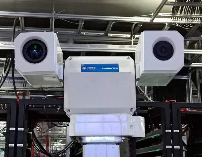 有颜有实力 浪潮智慧园区5G加巡检机器人更快更安全