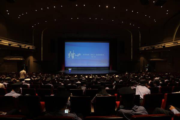 """""""影视之都""""影响力持续提升 悬疑系列电影《猎心》在青岛西海岸新区举行超前首映式"""