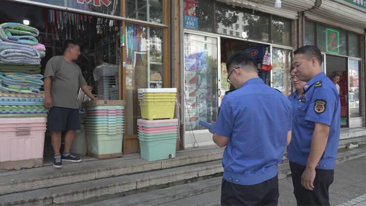 """37秒│潍坊临朐:""""非接触性""""执法让城市管理更有""""温度"""""""
