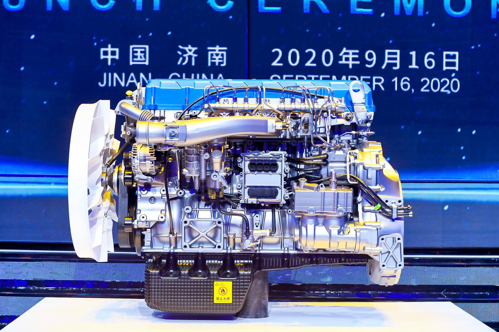 潍柴:树立全球柴油机热效率新标杆!
