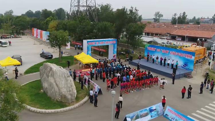 37秒丨山东省青少年公路自行车锦标赛在滨州博兴麻大湖开幕