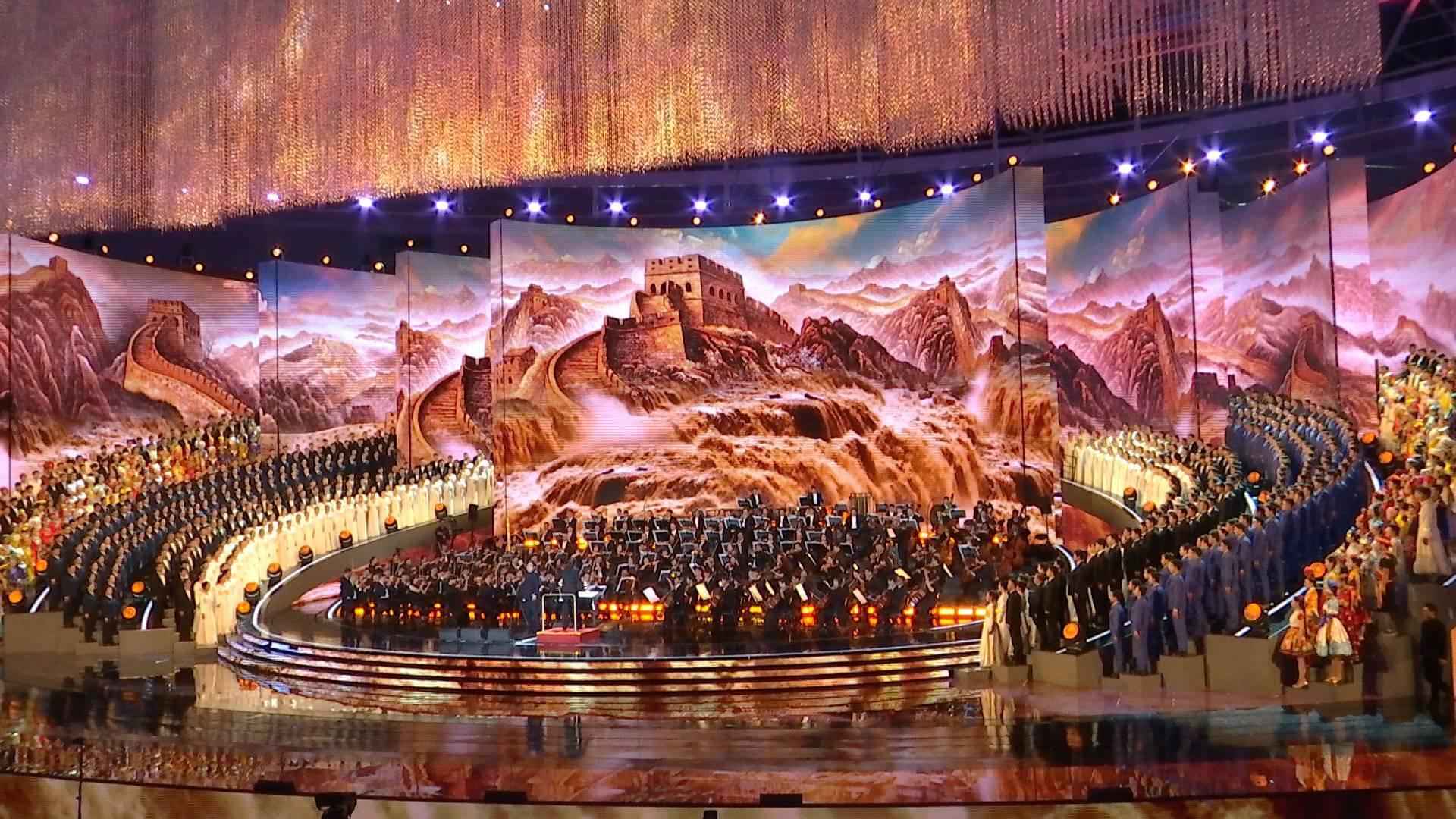 92秒丨反响热烈!大型交响音乐会《黄河入海》在济南奥体中心精彩上演