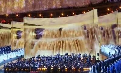 手机投屏看大型交响音乐会《黄河入海》市民:身临其境体验震撼
