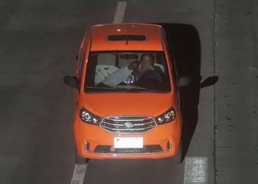 32秒|寻找肇事者!聊城高唐一电动轿车撞了电动车后逃逸