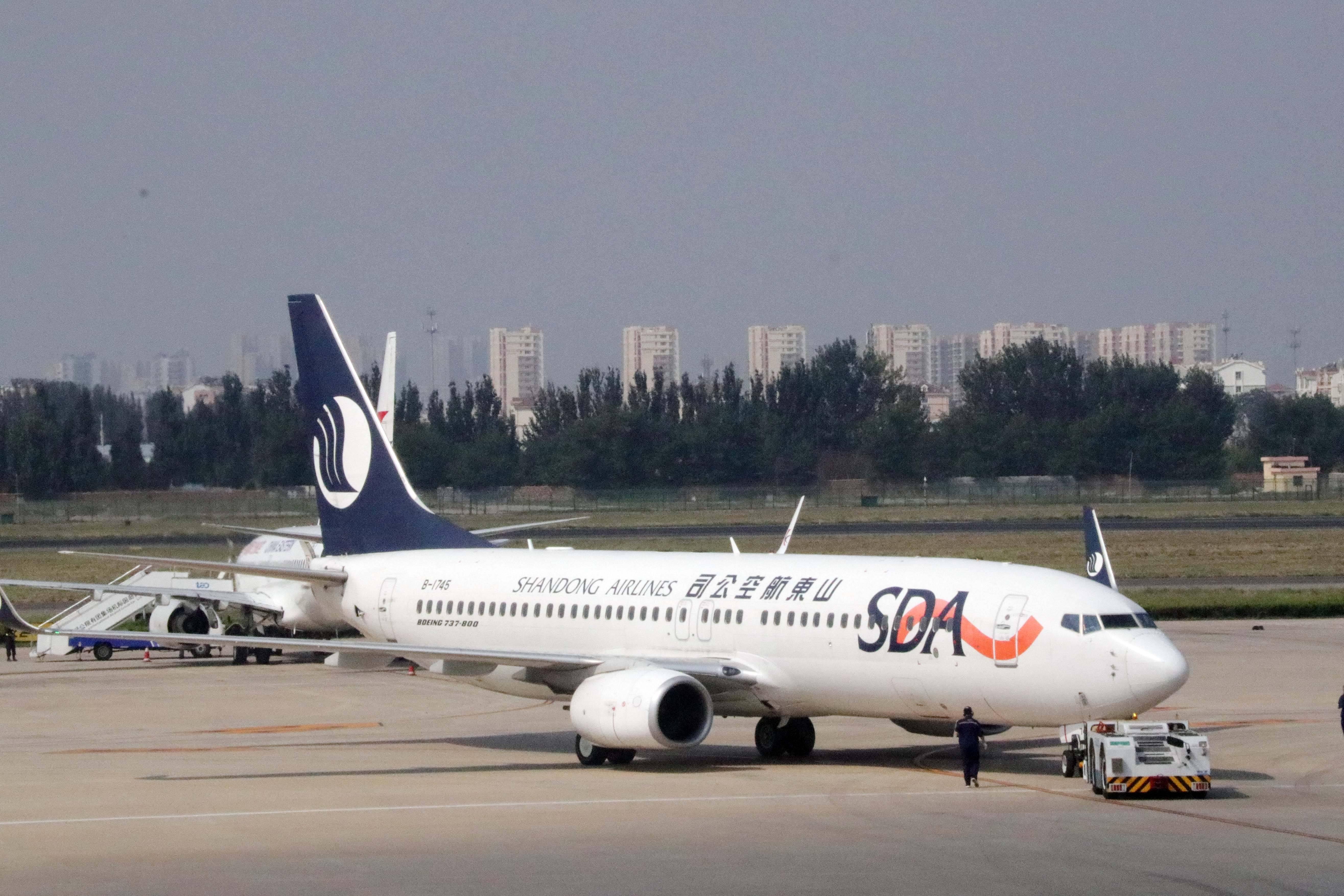 青岛-首尔 山航增开往返航班每周两班